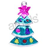 Christmas Decorations Christmas Tree Tin Ornament Image