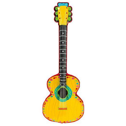 Cinco de Mayo Favors & Prizes Mariachi Guitar Inflate Image