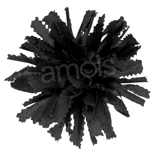 Day of the Dead Decorations Black Marigold Image