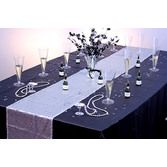 Silver Champagne Showers Table Set