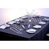 Silver Starry Night Table Set
