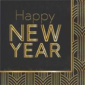 New Years Table Accessories 2020 New Year Luncheon Napkins Image