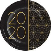 New Years Table Accessories 2020 New Year Dessert Plates Image