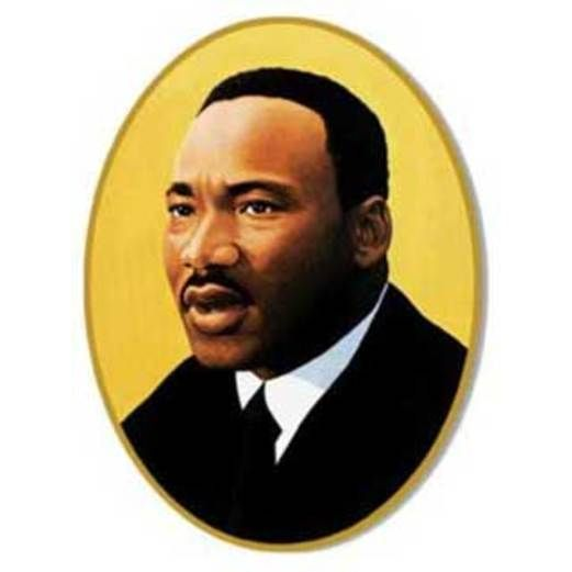 Patriotic Decorations Martin Luther King Cutout Image