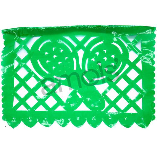 Cinco de Mayo Decorations Small Viva Fiesta Plastic Picado Image