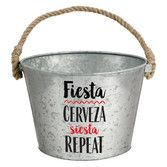 Fiesta Table Accessories Fiesta Galvanized Bucket Image