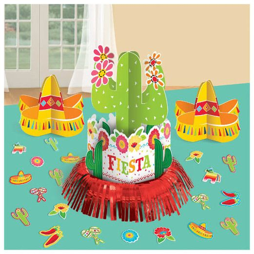 Fiesta Decorations Fiesta Table Deco Kit Image
