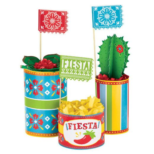 Fiesta Decorations Fiesta Centerpiece Deco Kit Image