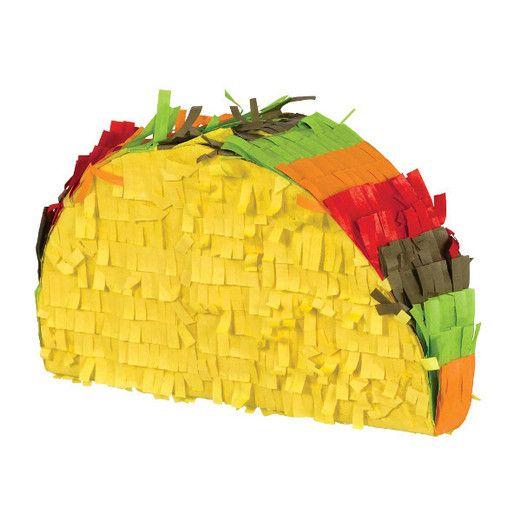 Fiesta Decorations Mini Taco Pinata Image