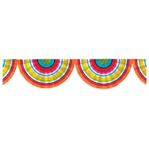 Fiesta Decorations Serape Bunting Garland Image