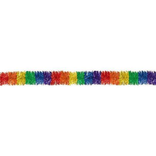 Decorations Rainbow Tinsel Garland Image