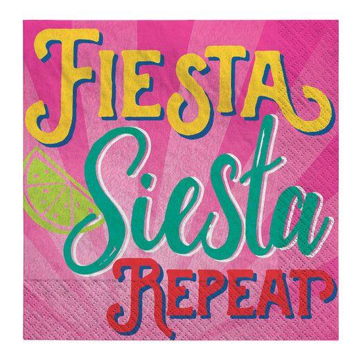 Fiesta Table Accessories Fiesta Siesta Repeat Beverage Napkins Image