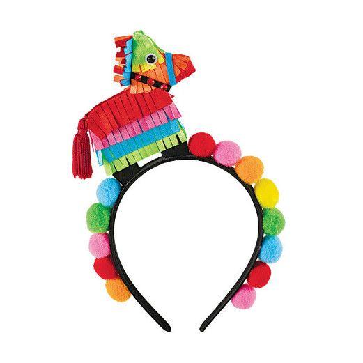Fiesta Hats & Headwear Pinata Poms Deluxe Headband Image