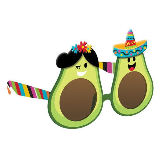 Cinco de Mayo Party Wear Avocado Fun Shades Image