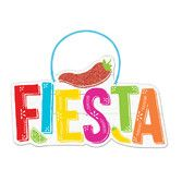 Cinco de Mayo Decorations Fiesta Hanging Sign  Image