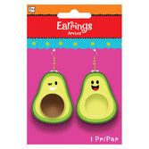 Fiesta Party Wear Avocado Earrings Image