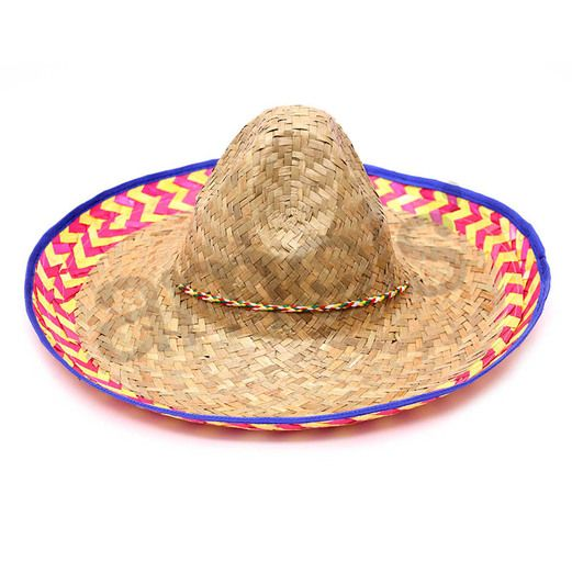 Fiesta Hats & Headwear Fancy Brim Sombrero Image
