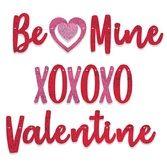 Valentine's Day Decorations Valentine Streamer Set Image