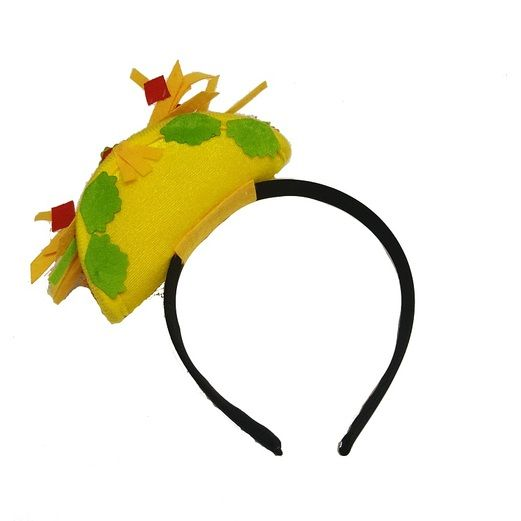 Cinco de Mayo Hats & Headwear Mini Taco Headband Image