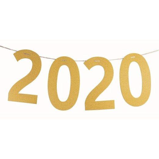 Graduation Decorations 2020 Gold Diamond Banner Image