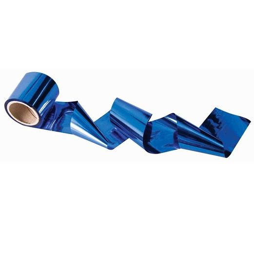Decorations Royal Blue Metallic Streamer Image