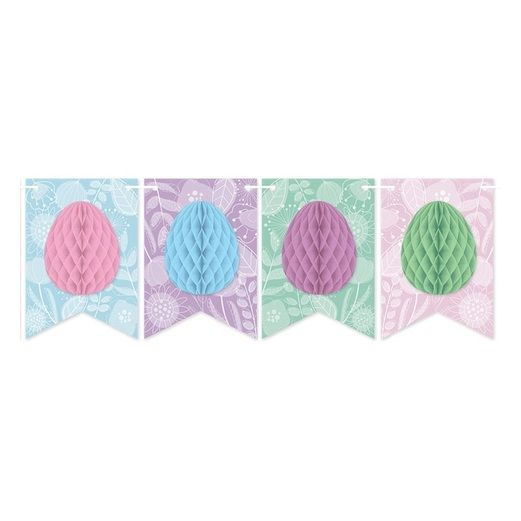 Easter Decorations Easter Tissue Egg Streamer Image