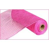 Decorations Hot Pink Metallic Mesh Roll Image