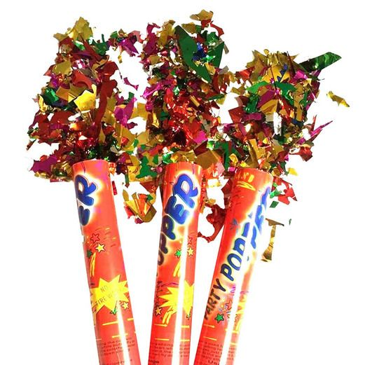 "New Years Favors & Prizes 24"" Confetti Popper Image"