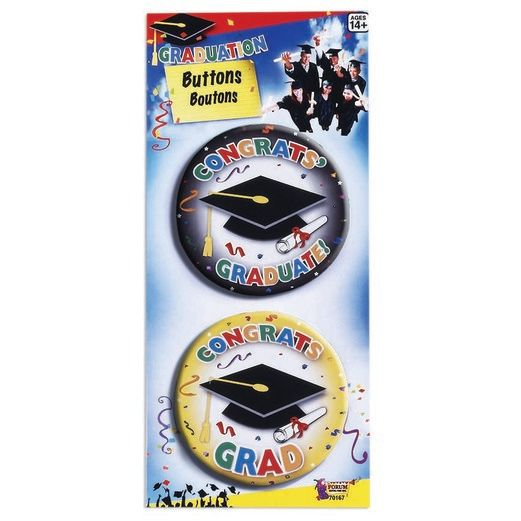 Graduation Party Wear Graduation Buttons Image