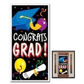 Graduation Decorations Congrats Grad Door Cover Image