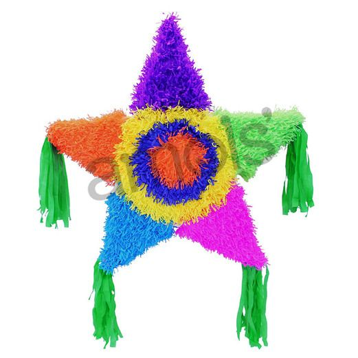 Fiesta Decorations Large Star Pinata Image