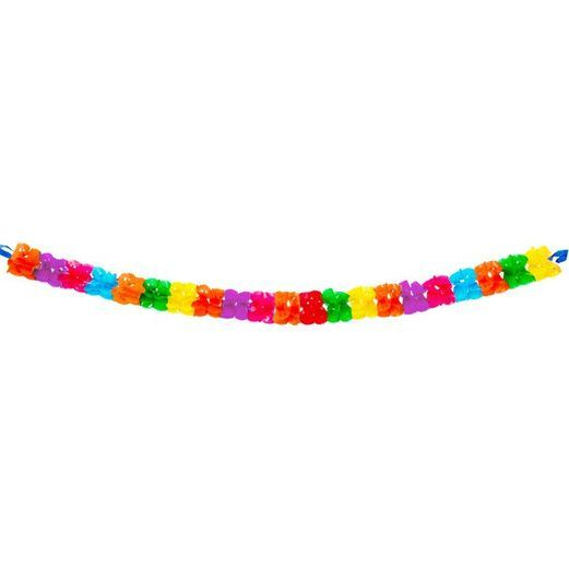 Cinco de Mayo Decorations Large Neon Plastic Garland Image