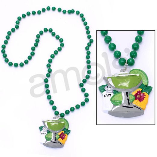 Cinco de Mayo Party Wear Margarita Bead Necklace Image