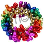 Fiesta Party Wear Rainbow Teardrop Bracelet Image