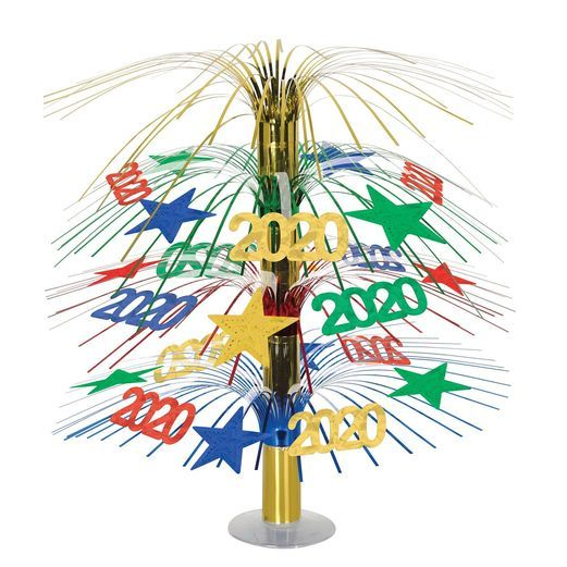 Graduation Decorations 2020 Cascade Centerpiece Image