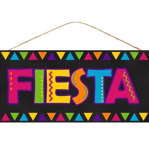 "Fiesta Sign 12.5"" Image"