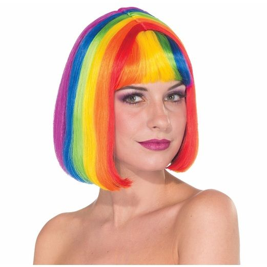 Party Wear Rainbow Chic Wig Image