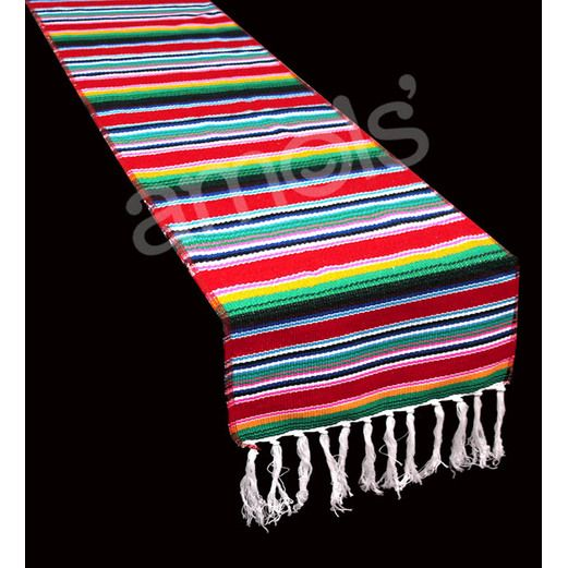 Fiesta Stripe Woven Table Runner