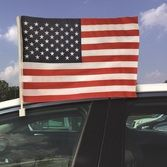 4th of July Decorations USA Car Flag  Image