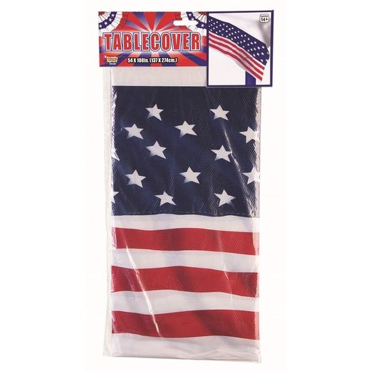 4th of July Table Accessories Patriotic Table Cover Image