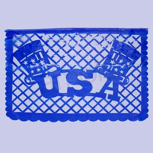 4th of July Decorations 4th of July Plastic Picado Image