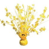 Decorations Neon Yellow Star Burst Centerpiecc Image