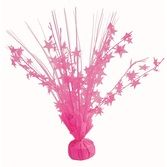 Decorations Neon Pink Star Burst Centerpiece Image
