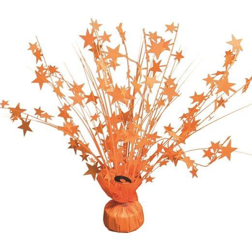 Decorations Neon Orange Star Burst Centerpiece Image