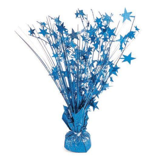 Decorations Blue Holographic Starburst Centerpiece Image