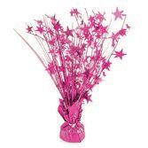 Decorations Hot Pink Holographic Starburst Centerpiece Image