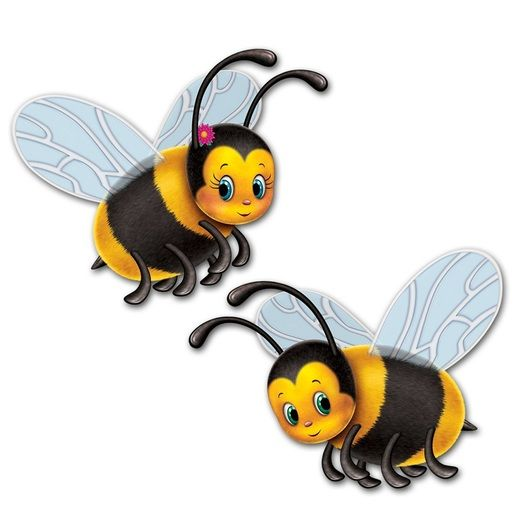 Mother's Day Decorations Bumblebee Cutouts Image
