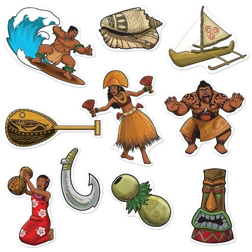 Luau Decorations Luau Cutouts Image