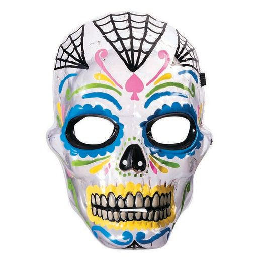 Day of the Dead Party Wear Day of Dead Transparent Mask Image