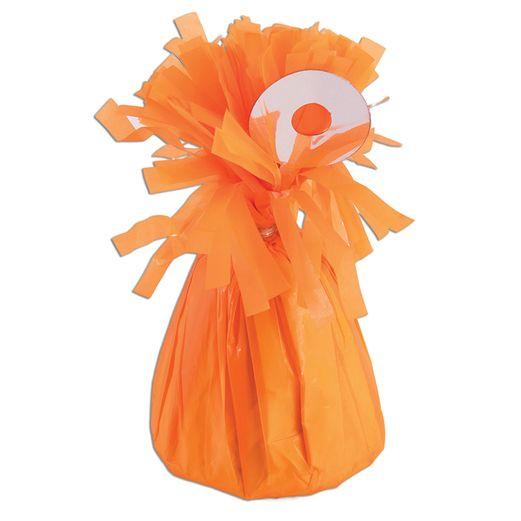 Neon Orange Balloon Weight